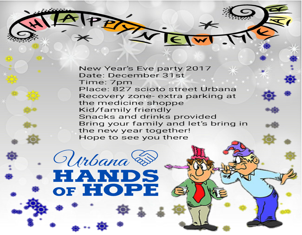 Urbana Hands of Hope New Year\'s Eve Party - Mental Health, Drug ...