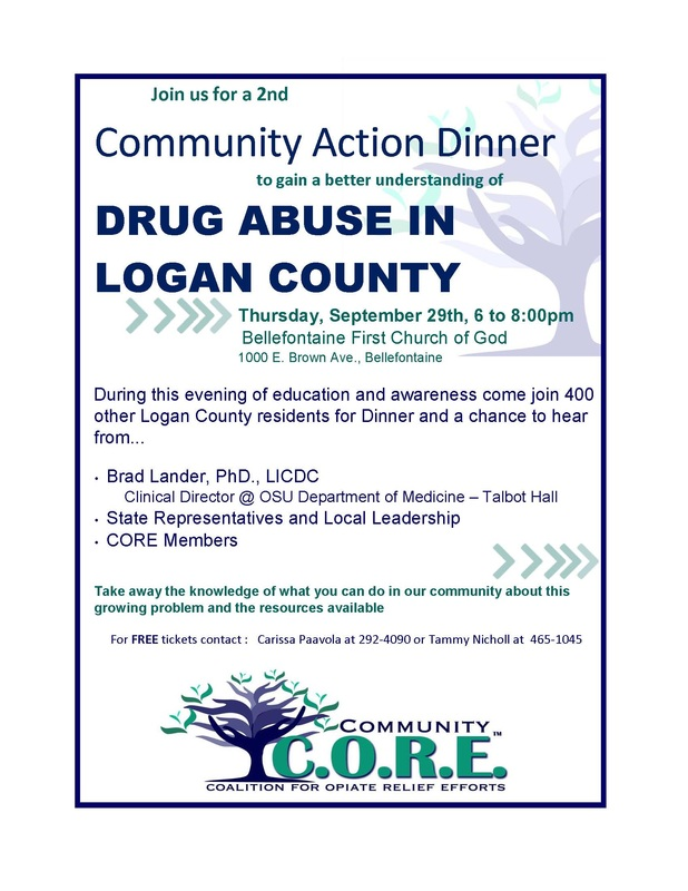 Logan County Coalition for Opiate Relief Efforts Dinner